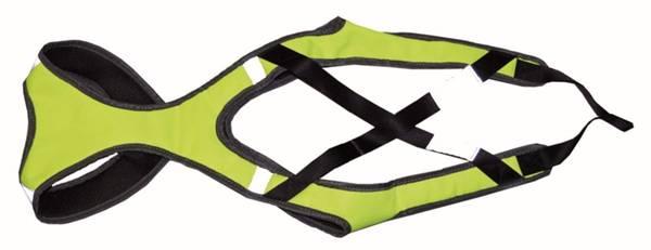 Bilde av Ski-Sele Neon-Grønn XL