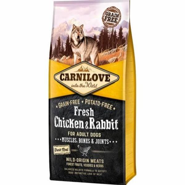 Bilde av Carnilove kylling & kanin for voksen hund 12KG